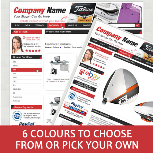 site Listing Template